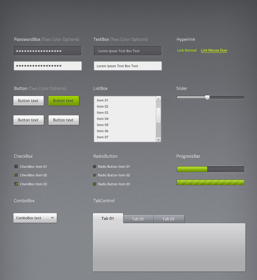 Silverlight Application Theme