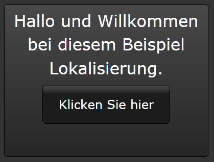 German localized sample application