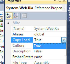 Change Copy Local Property image