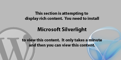 Install Microsoft Silverlight