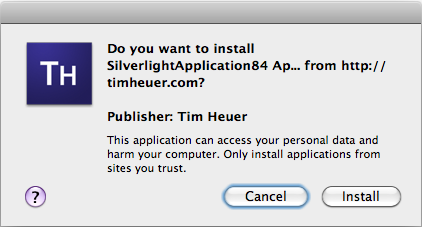 Signed trusted application on OSX